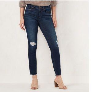 LC Lauren Conrad destructed Jeans